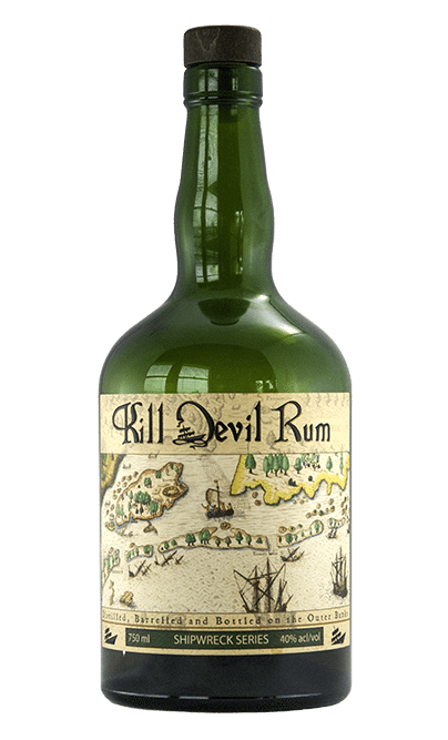 Shipwreck Series small batch rum