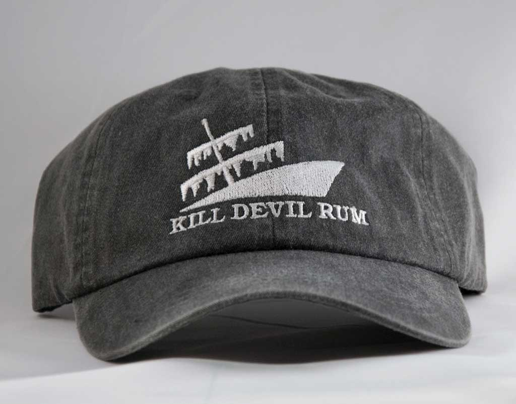 Kill Devil Rum - Faded Black Hat