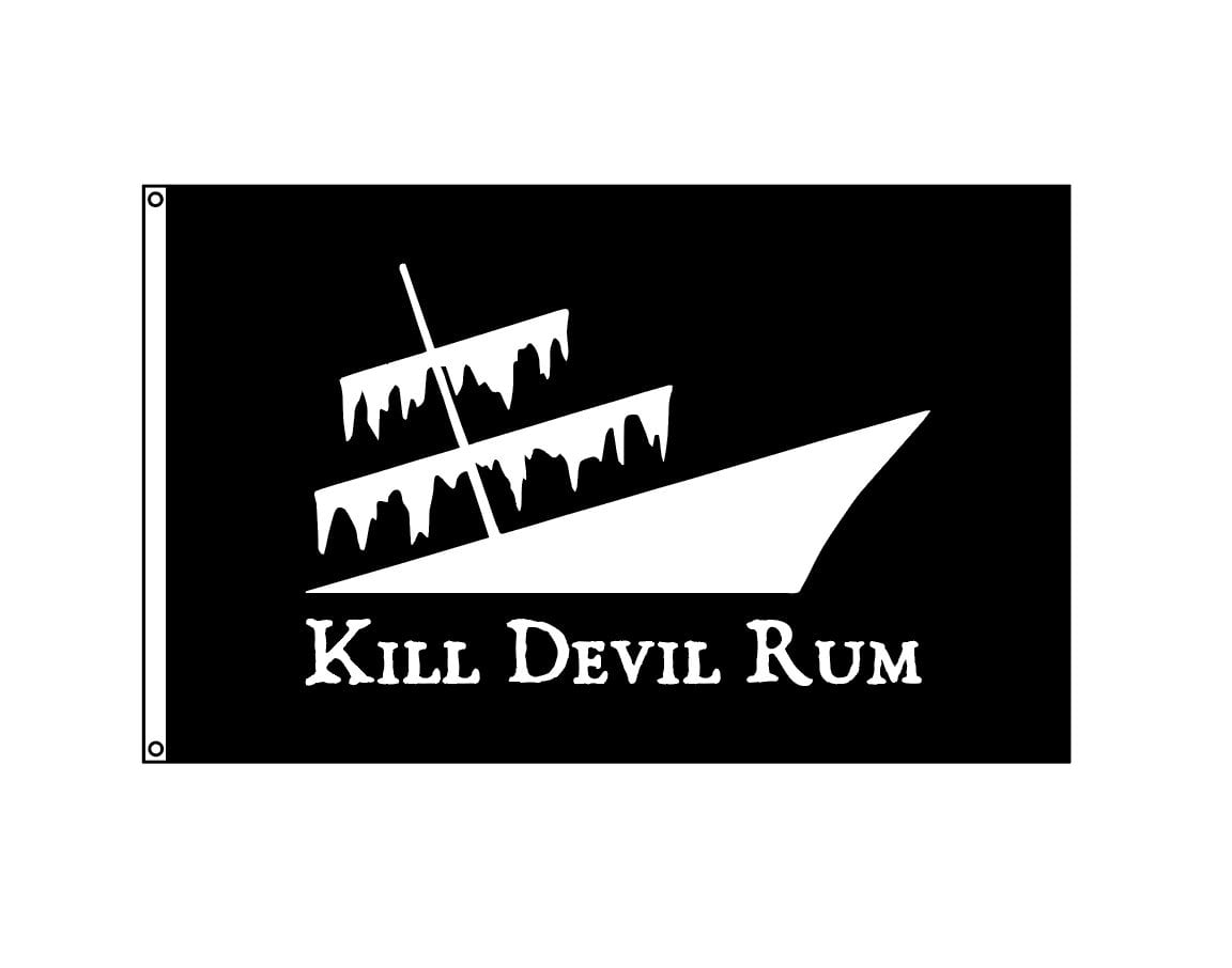 Kill Devil Rum Flag 3x5