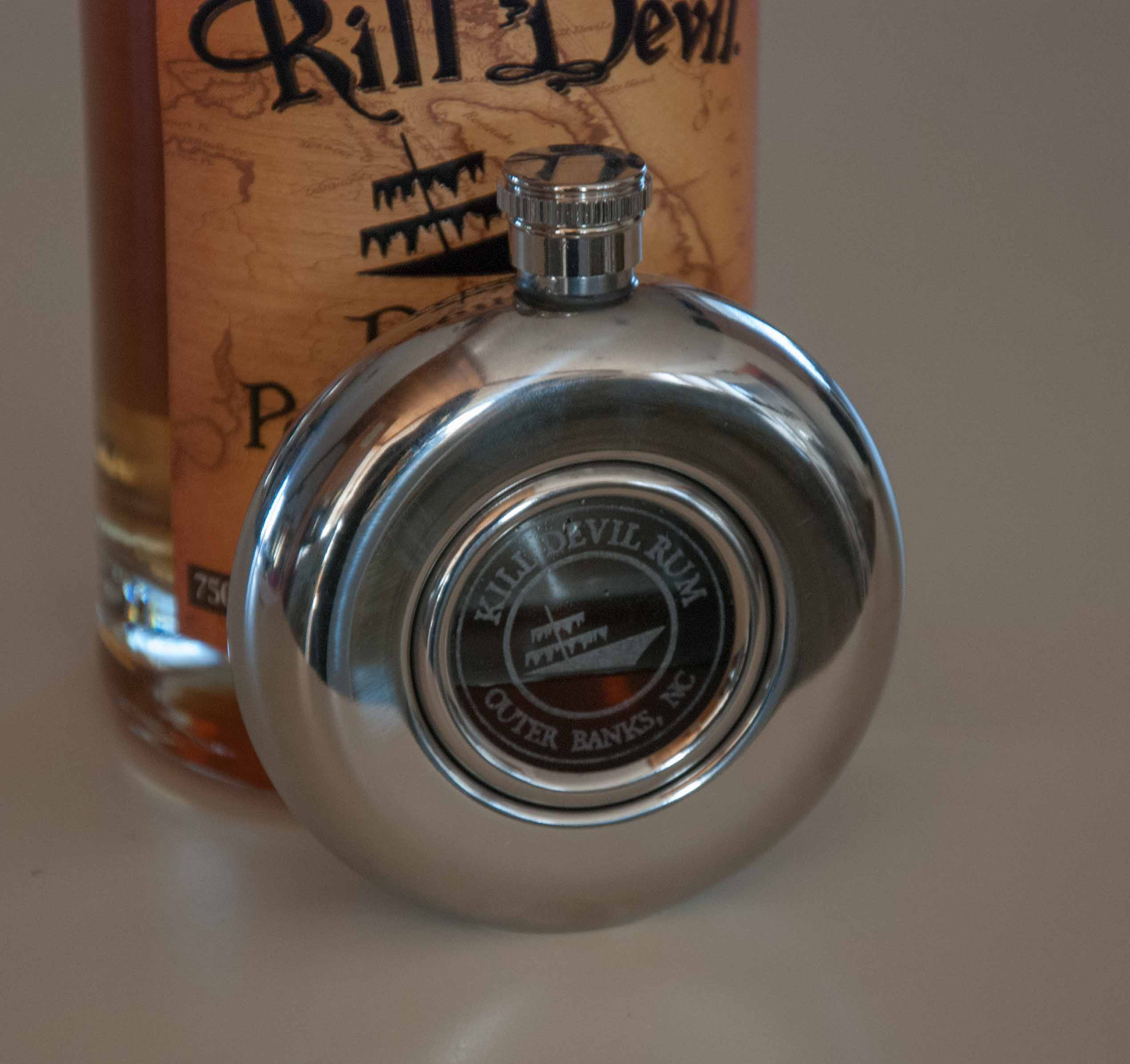 Kill Devil Rum Flask