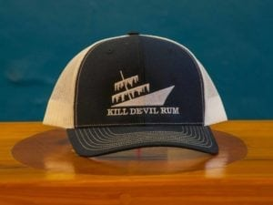 Kill Devil Rum-Trucker Hat-Navy & White