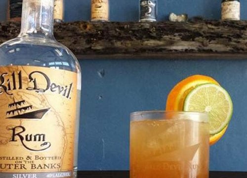 Kill Devil Rum Cocktail Recipe- The Devil's Triangle
