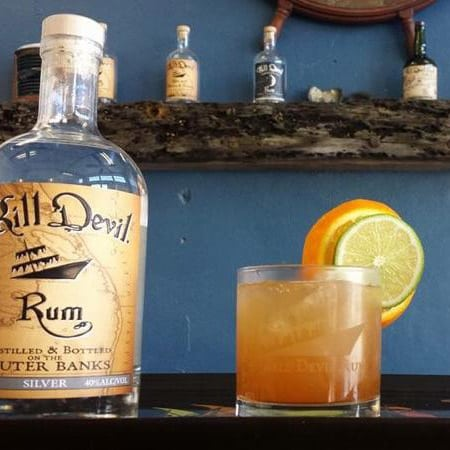 Kill Devil Rum Cocktail- The Devils Triangle