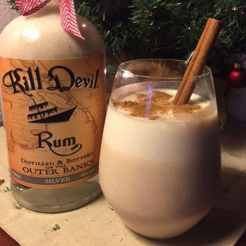Kill Devil Rum Coquito Cocktail