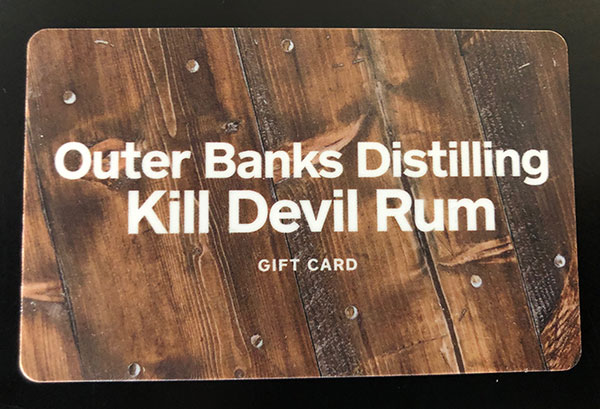 Outer-banks Distilling Gift Card