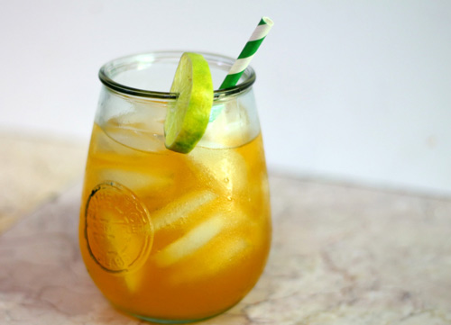 Sparkling Tropical Rum Punch