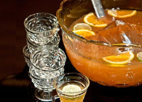 Tea Party Rum Punch